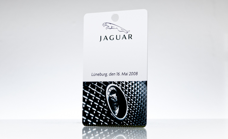 Besucherausweis Jaguar
