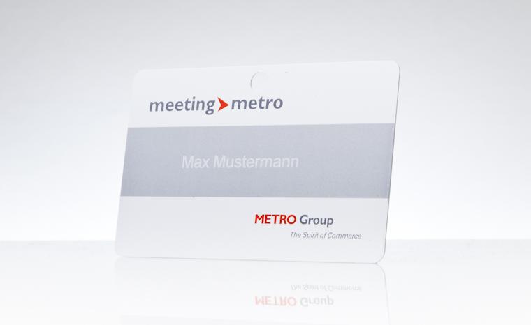 Besucherausweis METRO Group
