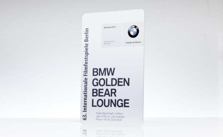 Besucherausweis BMW Berlinale