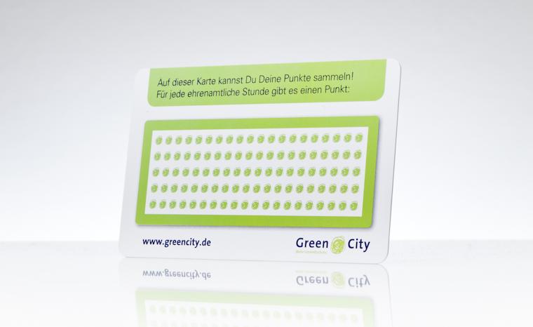 Bonuskarte, Rabattkarte Green City