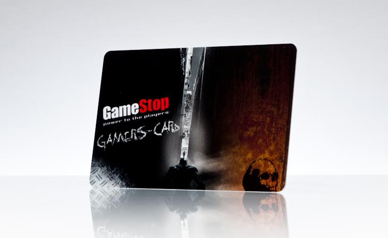 Gutscheinkarten GameStop