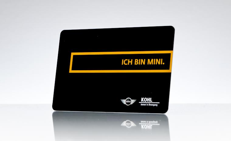 Kundenkarte BMW Mini Kohl