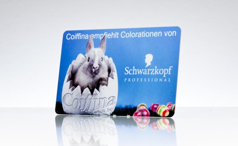 Geschenkkarte Coiffina