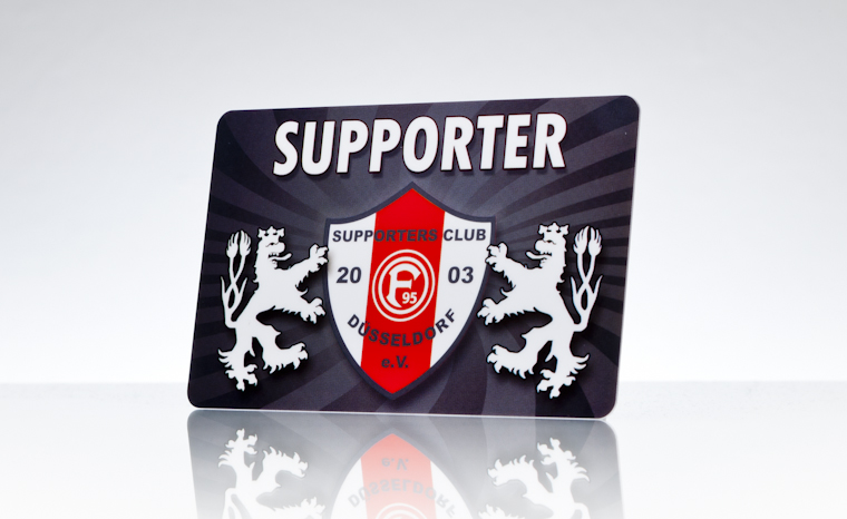 Mitgliedsausweise Supporters Club