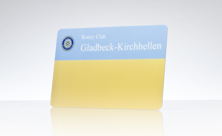 Mitgliedsausweis Rotary Club