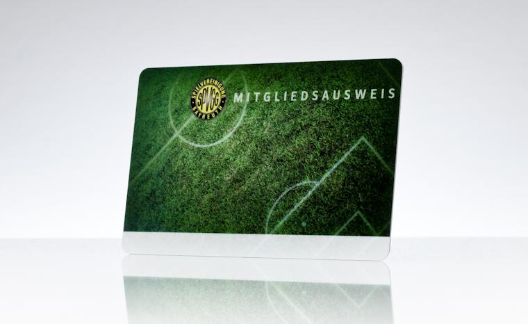 Mitgliedsausweis SpVgg Bayreuth