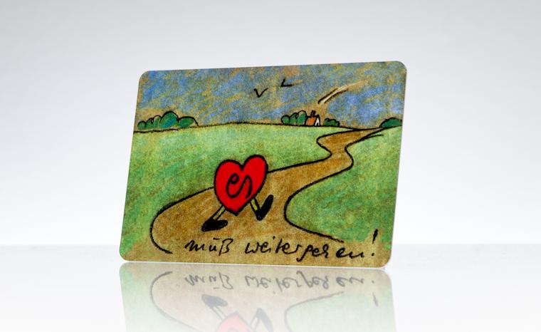 Ausweiskarte Organspendeausweis
