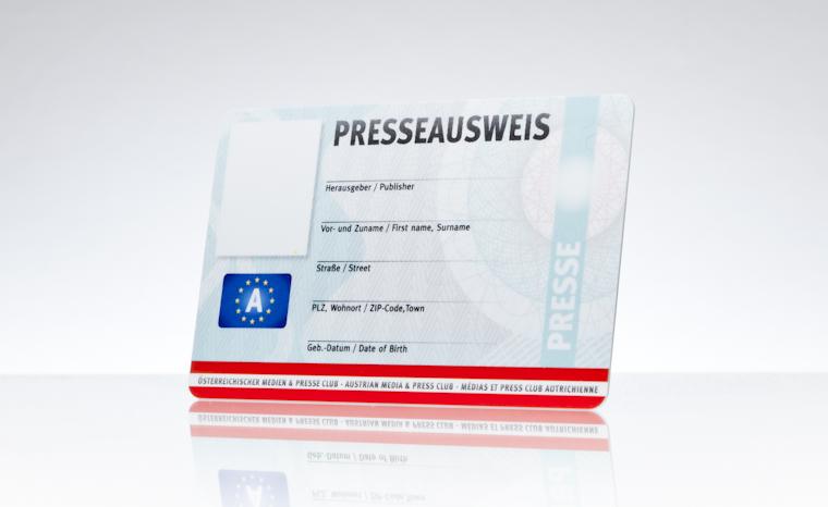 Presseausweis Medien- und Presseclub