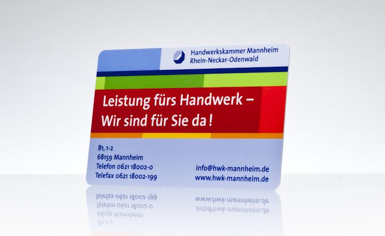 Werbekarte Handwerkskammer Mannheim